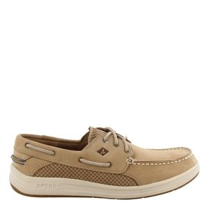 Sperry tan leather Gamefish  boat shoes 10.5 W